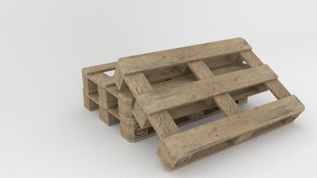 Qu'arrive-t-il aux palettes de bois usagées ?
