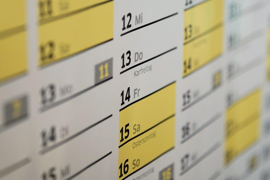 Saint du jour: origines du calendrier chrétien